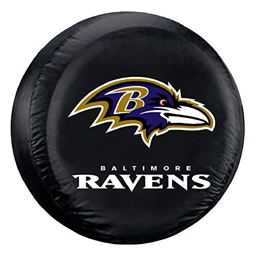 imore Ravens Tire Cover, Large Size (30-32
