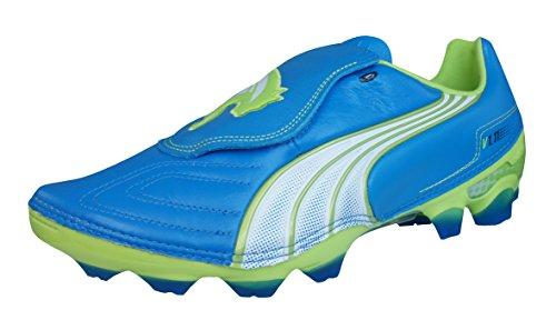Puma - Botas de fútbol para hombre Blue