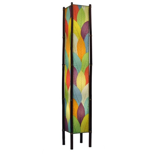 Eangee Fortune Series Giant Floor Lamp, 72-Inch Tall, - Leaf Floor Lamp