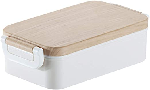 Lonchera portátil: caja bento cuadrada para un picnic al aire ...