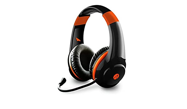 Amazon.com: Stealth Raptor Multi-Format Gaming Headset for PlayStation PS4/Xbox One/PC/Nintendo Switch/Mobile/Tablet - Black/Orange: Computers & Accessories