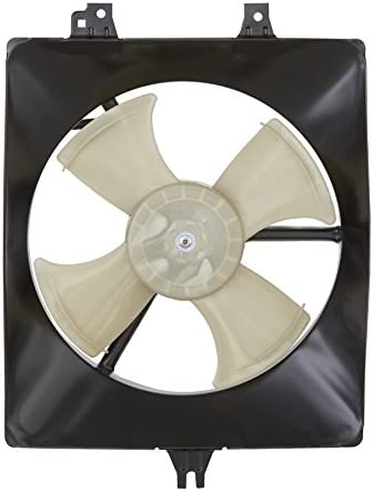 Sunbelt AC Condenser Fan Assembly For Acura TL AC3113105 Drop in Fitment