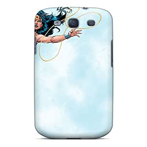 CharlesPoirier Samsung Galaxy S3 Excellent Cell-phone Hard Cover Provide Private Custom Lifelike Wonder Woman Series [kYL15153JvqS]