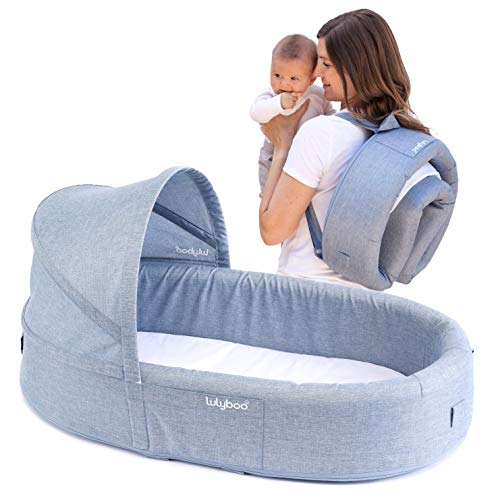 Buy Bargain Bassinet to-Go: Pink, Blue, Natural (Denim)