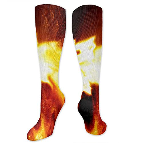 Socks Blue and Red Fiery Dragons Special Womens Stocking Party Sock Clearance for Girls -