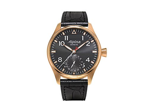 Alpina Startimer Pilot Manufacture Watch, AL-710, 18K Gold, Limited Ed.