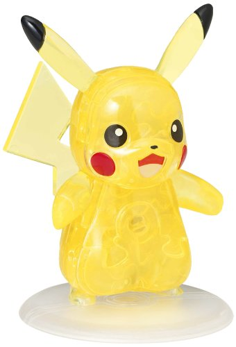 Beverly Pokemon XY Crystal 3D Jigsaw Puzzle - Pikachu (29 Piece)