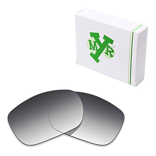 Mryok Polarized Replacement Lenses for Oakley TwoFace - Grey Gradient - Gradient Grey