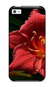 Cute Tpu Lelean Boghorian Flower Earth Nature Flower Case Cover For Iphone 5c