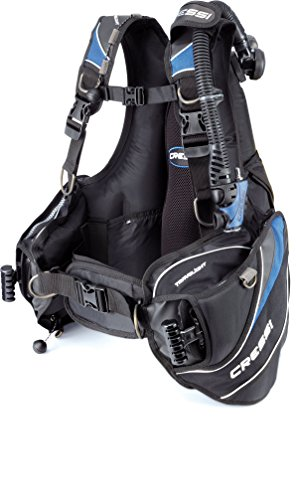 Cressi Travelight 15 LBS Scuba Diving Package Carry On Reg Dive Computer 6...