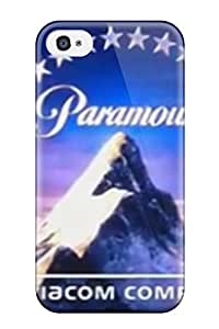 Best Tpu Fashionable Design Paramount Logo Rugged Case Cover For Iphone 4/4s New