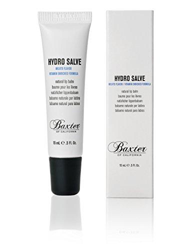 Baxter of California Silicone-Free Hydro Salve Lip Balm,Vitmain E and Coconut Oil , Long Lasting Hydration, 0.5 fl. oz