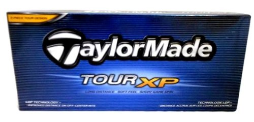 TaylorMade Tour XP 3-Piece tour design golfball set of 12, Outdoor Stuffs