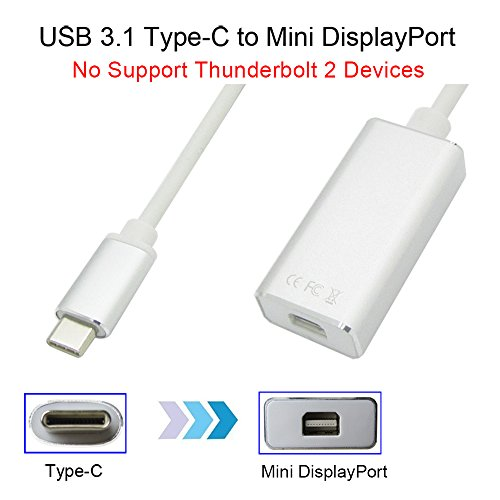 weini USB 3.1 Type C to Mini DisplayPort/Mini DP Adapter Cab