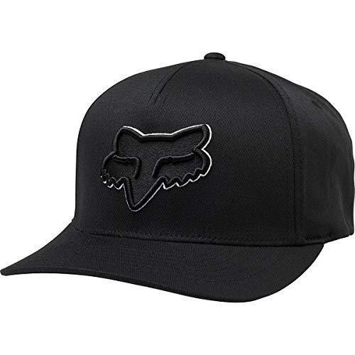 Fox Men's Epicycle Flexfit HAT, Black/White, L/XL