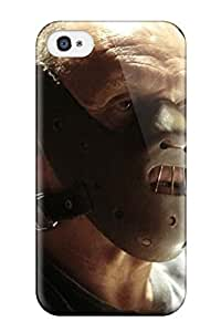 CharlesRaymondBaylor Case Cover Protector Specially Made For Iphone 4/4s Silence Of The Lambs
