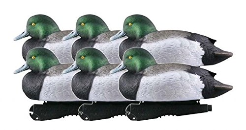 Greenhead Gear Over-Size Duck Decoy,Blue-Bills,1/2 Dozen