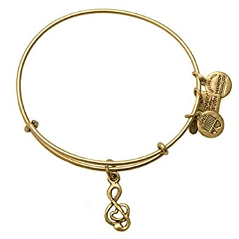 e34667957 Image Unavailable. Image not available for. Color: Alex and Ani Sweet  Melody Charm Bangle ...