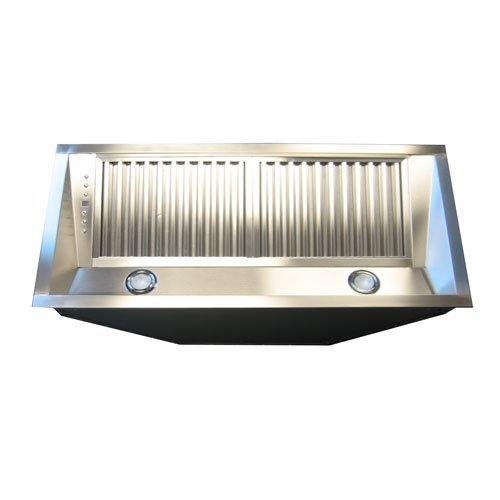 Z Line 698-28 Deep Stainless Steel Range Hood Insert, 28-Inch