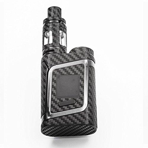 Carbon Fiber Vinyl Wrap for Smok Alien AL85 Vape Mod True Black 3D Skins Decals Sticker Kit Made in the U.S.A. - vapecentral.us
