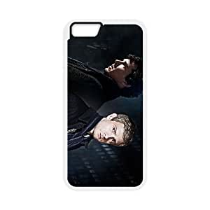 iphone6 4.7 inch White Sherlock phone cases&Holiday Gift