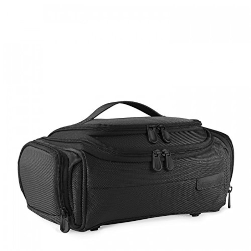 Briggs & Riley Baseline-Executive Toiletry Kit, Black, 4.5×11.5×5.5