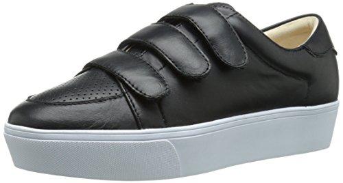 Nine West Kvinners Hidrate Skinn Mote Sneaker Svart