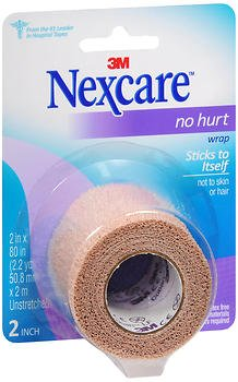 Nexcare No Hurt Wrap 2 in x 80 in - 1 Each, Pack of 6 (Wrap Athletic Nexcare)