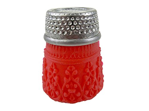 Rhythm Patch Flexible Silicone Rubber Grip Brass Thimble, Recessed-Top