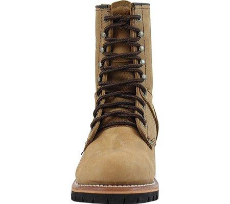 Adtec Kvinners 9 Logger Brun Arbeid Boot Tan