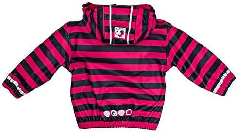 SALT AND PEPPER Baby-M/ädchen Jacket Rb B Girls Stripe Regenjacke