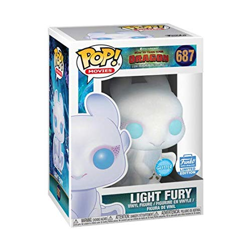 POP Movies: How to Train Your Dragon - Glitter Light Fury Exclusive