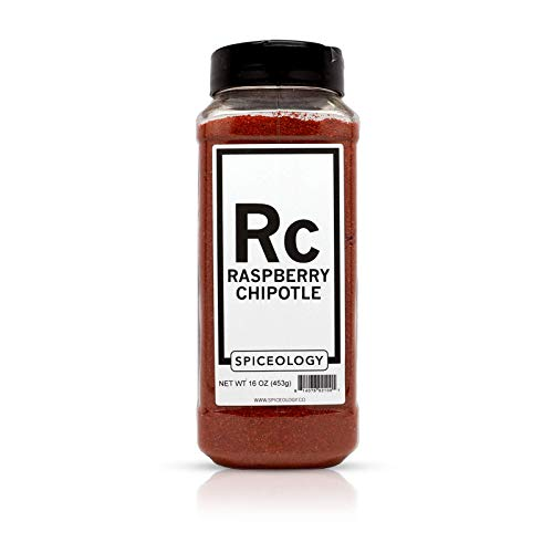 (Raspberry Chipotle Sweet & Spicy Rub - Spiceology All-Purpose Spice Blend - 16 ounces )