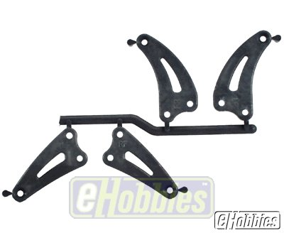 3880 FT Front/Rear Chassis Brace Graphite ()