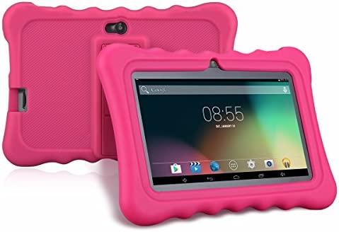 Ainol Q88 - Tablet Infantil de 7 Pulgadas Android 4.4 (Regalo para Niños, 1024x600, 8GB ROM, Soporta Tarjeta TF 64GB, con Carcasa Funda Sicolina), ...