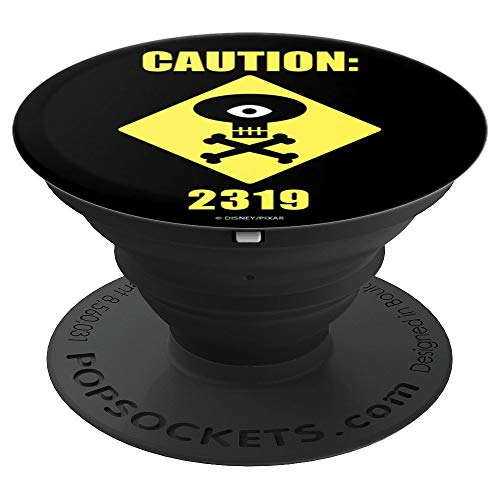 Disney Pixar Monsters University Caution: Code 2319 - PopSockets Grip and Stand for Phones and Tablets]()