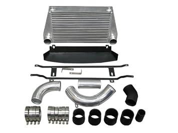 FMIC Intercooler Kit para 04 - 11 BMW 135i N54 E81 E82 E87 E88 negro: Amazon.es: Coche y moto