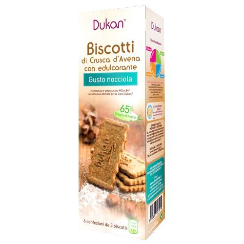 Dukan Biscotti Crusca Avena Nocc