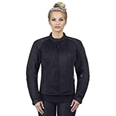 Be seen and protected with Viking Cycle's Ironborn Women's Motorcycle Textile Jacket Get C.E. approved armor delivered straight to your front door. With its removable elbow, shoulder and spine armor passing the highest impact tests available....