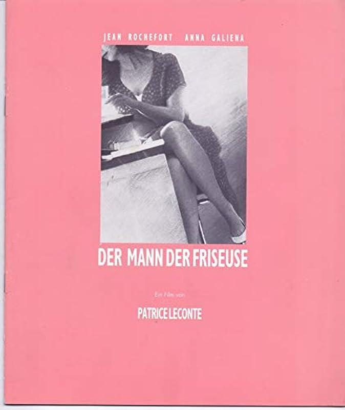 Der Mann der Friseuse - Anna Galiena - Jean Rochefort - Presseheft: Küche & Haushalt