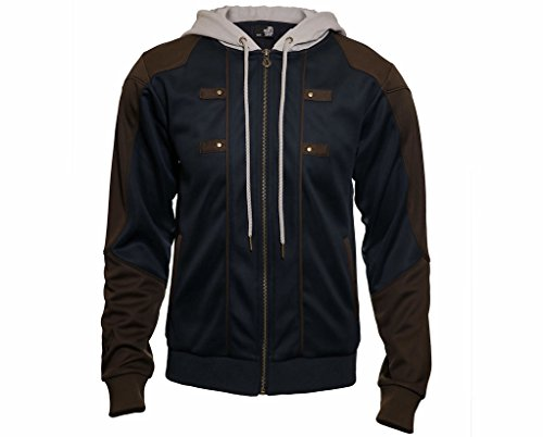 Ubisoft - Assassin's Creed Legacy Edward Kenway Replica Hoodie (Navy, Large) -