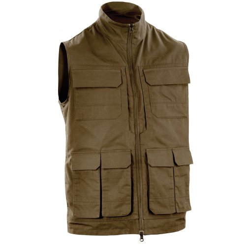 (5.11 Tactical 80017 Range Vest, Battle Brown, X-Large)