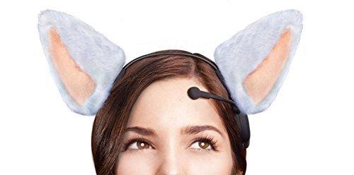 [Necomimi Brainwave Cat Ears] (Cat Sushi Halloween Costume)