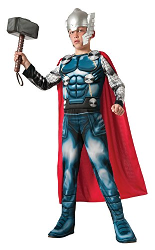 R620022 (8-10) Thor Muscle Assemble Costume Child