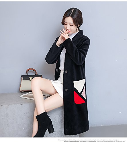 Generic 2018 new women's fall and winter clothes Dongguk door tidal sheep shearing wool coat jacket and long sections for women girl