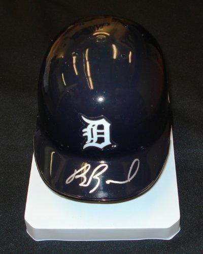 Brennan-Boesch-Autographed-Detroit-Tigers-Mini-Helmet