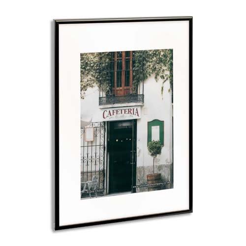Price comparison product image The Photo Album Company PAAF5070B-BLK Luxury Black Satin Aluminium Frame - 50X70