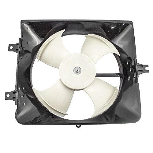 A/C AC Condenser Cooling Fan Motor Assembly Replacement for Honda 3.0L 38611-RCA-A01