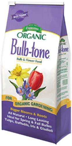 - Espoma BT18  Bulb Tone, 18-Pound