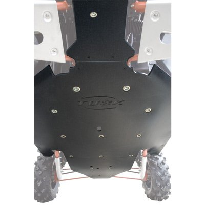 Tusk Quiet-Glide Skid Plate 3/8'' - Fits: Polaris RANGER RZR XP 900 2011-2014 by TUSK